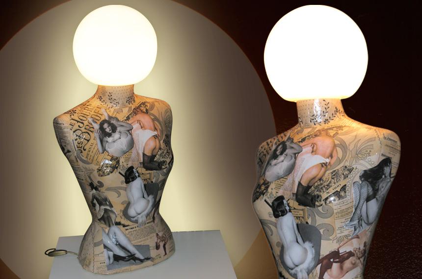 Cj portfolio - Lampe vintage occasion ...